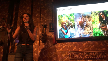 Biology on Tap: Island Edition - explaining what a herpetologist actually does